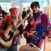 Rockin It Out - Ali McGinty, Methuen as Willie Nelson and Lorraine Farmer, Lowell, Prince