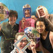 Rocktober Planners - Elder Services (l-r) Maureen Drouin, Bonnie Sisson, Laura Marsan, Andrew McGinty and Nandi Munson